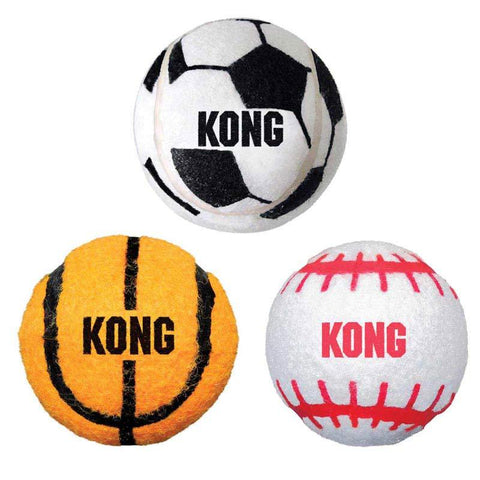 Image of KONG Sport Balls Assorted 3 Pack