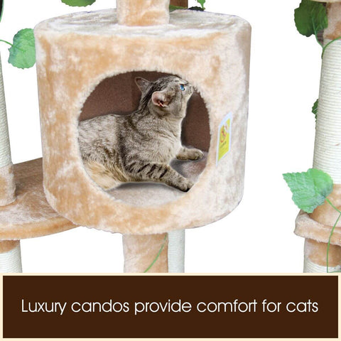 Image of 2.1M Multi-Level Cat Luxury Condo Comfort