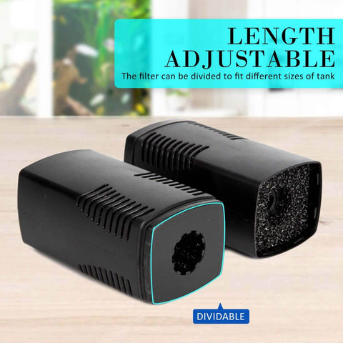 Image of 2.5m 1600LH Aqua Aquarium Filter Pump Submersible Pump Length Adjustable