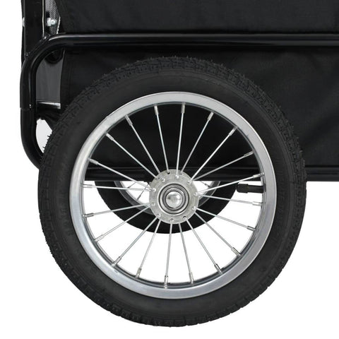 Image of 2-in-1 Pet Bike Trailer and Jogging Stroller Wheel Everyday Pets