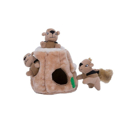 Image of Holiday Hide A Squirrel Pet Toy