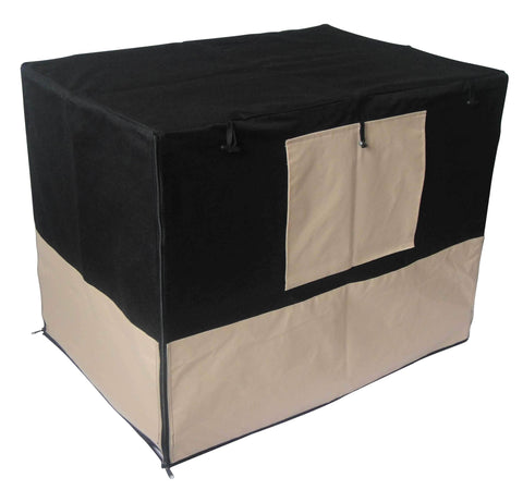 Image of 36 Pet Dog Crate with Waterproof Cover