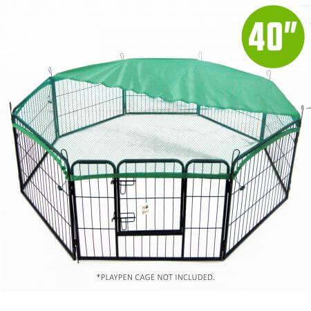 "24"" Cover For Playpen - Green"