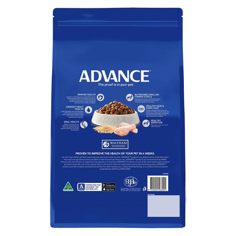 Image of Advance Adult Dog All Breed Dry Dog Food Chicken 3kg Everyday Pets