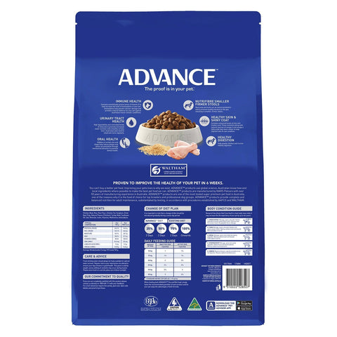Image of Advance Adult Dog All Breed Dry Dog Food Chicken 15kg Everyday Pets