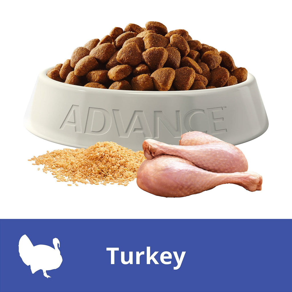 Advance Adult Dog All Breed Dry Dog Food Turkey 3kg Everyday Pets