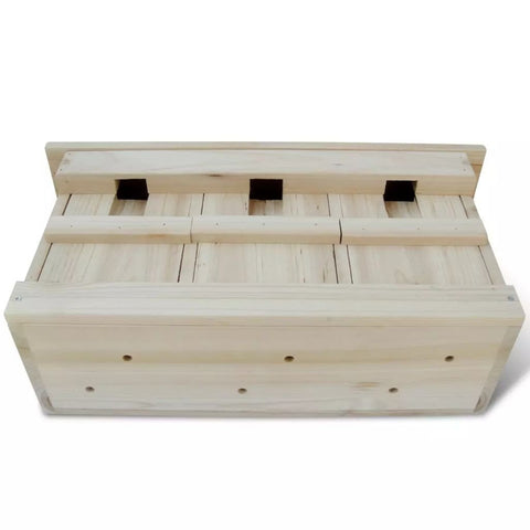 Image of Sparrow Nesting Box 44x15.5x21.5 cm