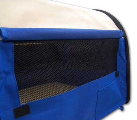 Extra Large Sized 81cm Long Portable Pet Carrier/House/Cage with Carrying Handle - Blue