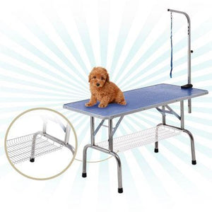 Grooming Table with Adjustable Arm for Cats, Dogs and Pets - 120cm in Length