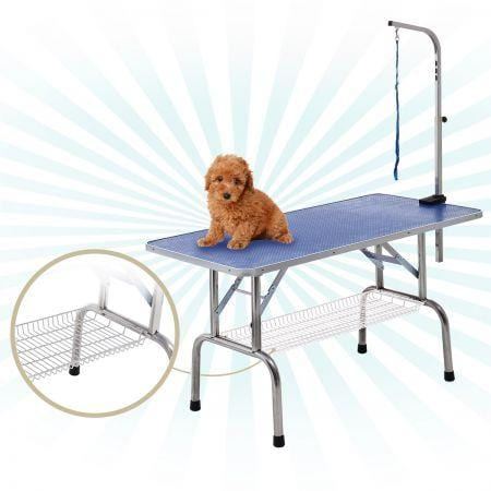 Image of Grooming Table with Adjustable Arm for Cats, Dogs and Pets - 120cm in Length
