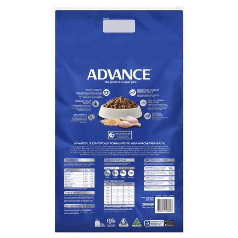 Image of Advance Adult Dog All Breed Dry Dog Food Turkey 15kg Everyday Pets