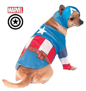 Captain America Pet CostumeAfterpay ZipPay Australia Melbourne Sydney Adelaide Gold Coast