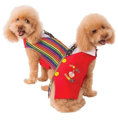 Image of Barkday Vest Pet Costume Costume