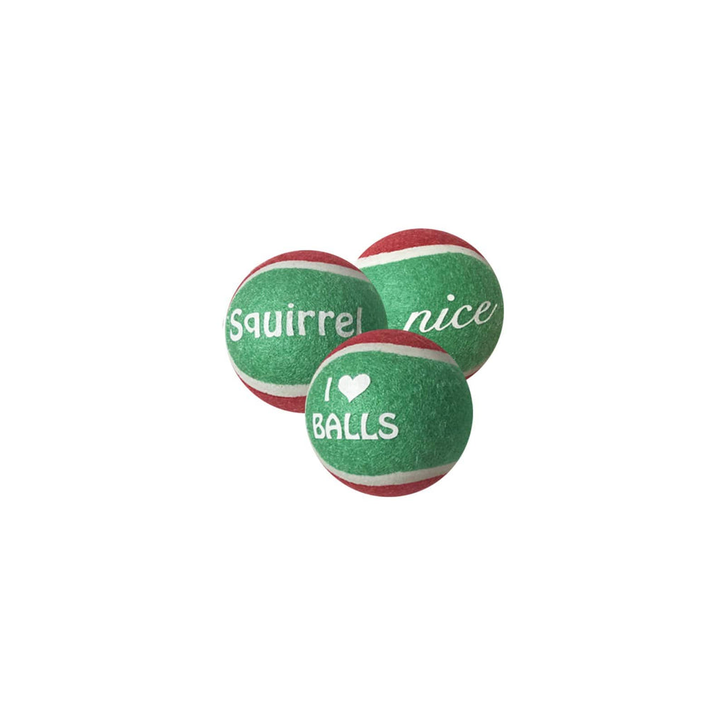 Outward Hound Holiday Ballz 3 Pack