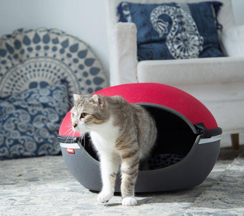 Ultra Light Cat Cave Stress-Crack Resistant Pet Bed Space Saving Home Cat Furniture
