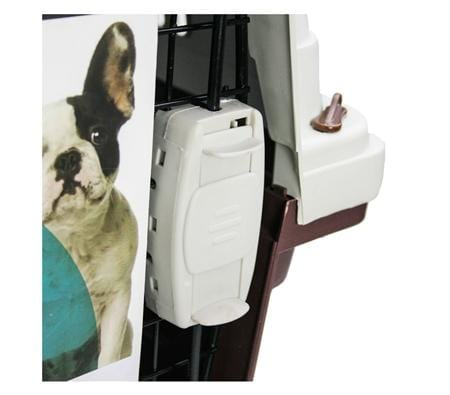 Paws n Claws Medium Deluxe Pet Carrier Dog Crate