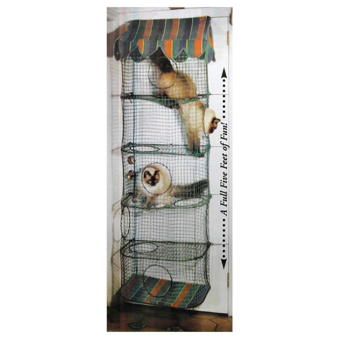 Kittywalk Cozy Climber Handcrafted Indoor Hanging Cat Furniture