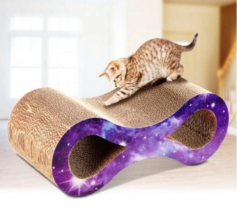 Image of Cat / Kitten Claw Scratching Board Scratch Post - Dual Layer Design