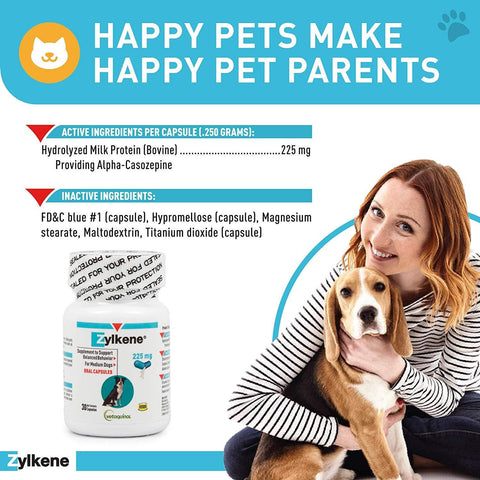 Zylkene Nutritional Supplement For Dogs And Cats