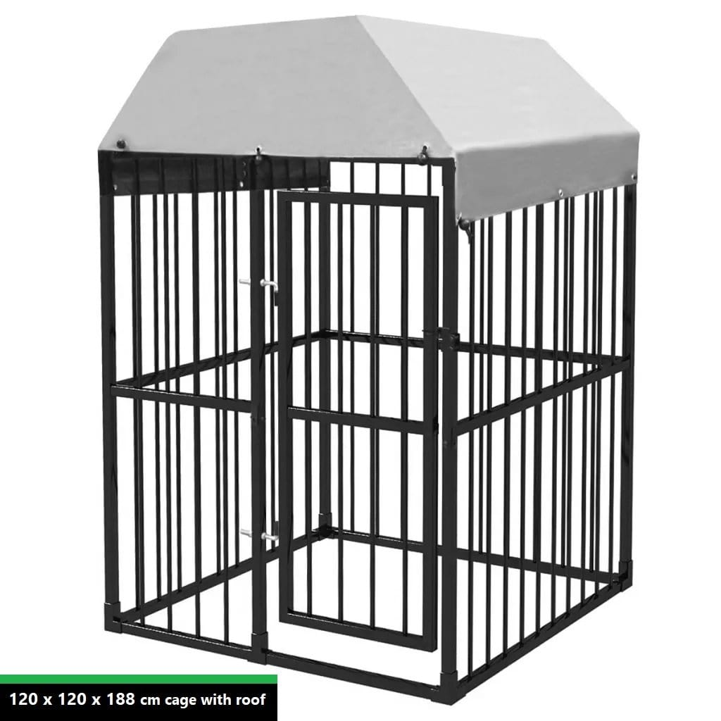 Heavy-Duty Outdoor Dog Kennels