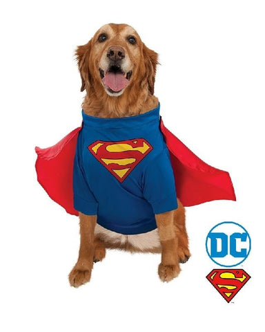 Superman Deluxe Pet CostumeAfterpay ZipPay Australia Melbourne Sydney Adelaide Gold Coast