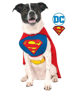 Superman Classic Pet CostumeAfterpay ZipPay Australia Melbourne Sydney Adelaide Gold Coast