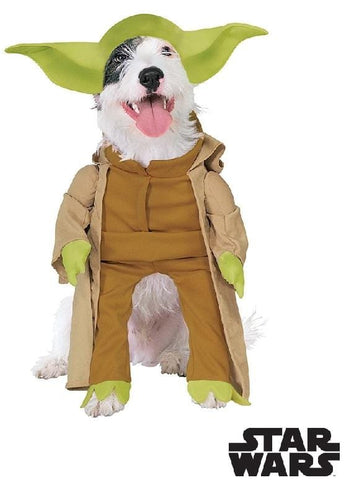 Deluxe Yoda Pet Dog Costume