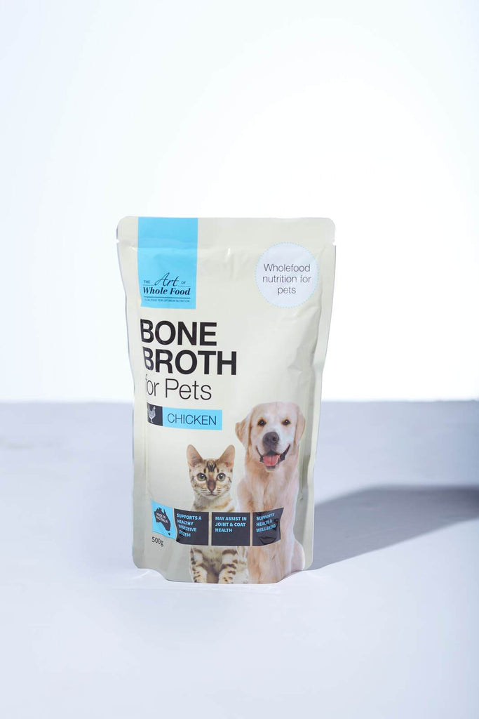 Bone Broth for Pets Beef/Chicken 500g