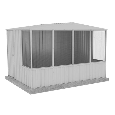 Absco Chicken Coop 3.00mL x 2.22mW x 2.06mH Zincalume