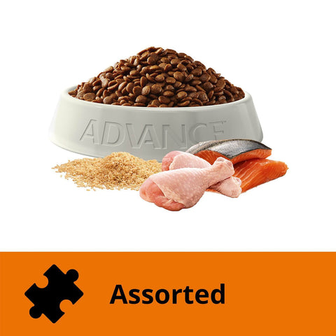 Image of Advance Adult Dry Cat Food Chicken & Salmon 6kg