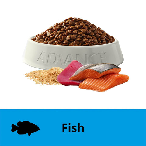 Image of Advance Adult Dry Cat Food Ocean Fish 6kg