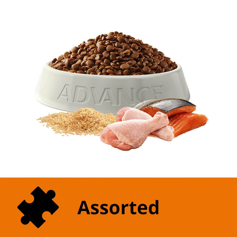 Image of Advance Adult Multi Cat Chicken & Salmon 6kg