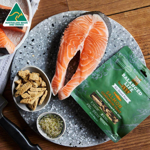 Image of Balanced Life Companion Treats Cat Dry Food Salmon Recipe 85g Sample Image