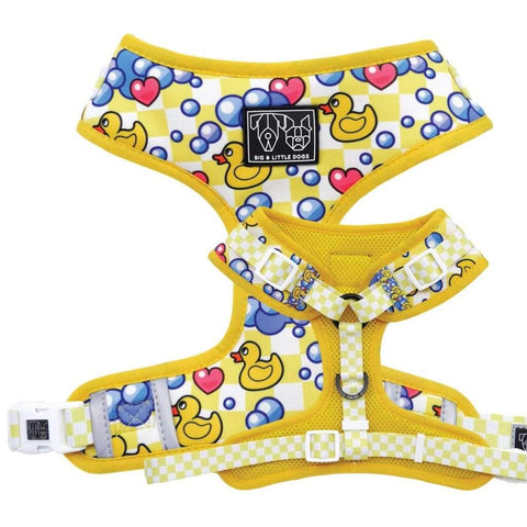 Image of Big-and-Little-Dogs-Adjustable-Dog-Harness-Rubber-Ducky-01