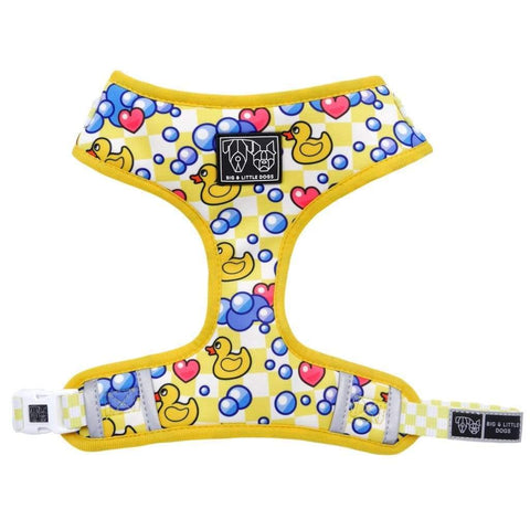 Image of Big-Little-Dogs-Big-and-Little-Dogs-Adjustable-Dog-Harness-Rubber-Ducky-Front