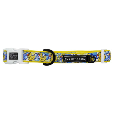 Image of Big-and-Little-Dogs-Dog-Collar-and-Bow-Tie-Rubber-Ducky-1