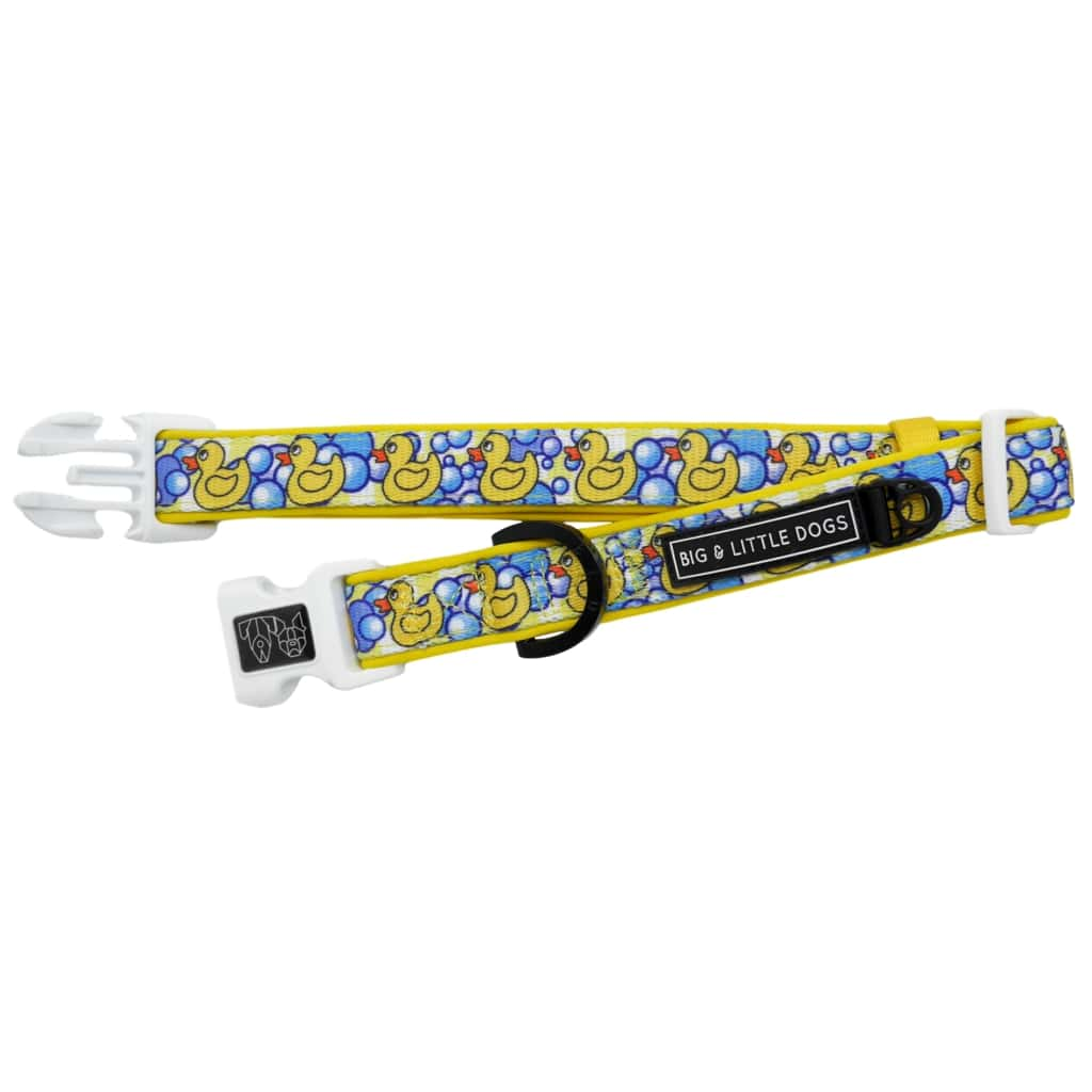 Big-and-Little-Dogs-Dog-Collar-and-Bow-Tie-Rubber-Ducky-2