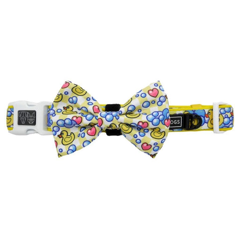 Image of Big-and-Little-Dogs-Dog-Collar-and-Bow-Tie-Rubber-Ducky-3
