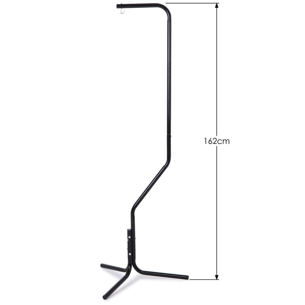 Bird Cage Hanger Stand - Black Iron Tube Frame 162cm in Height Product Dimensions
