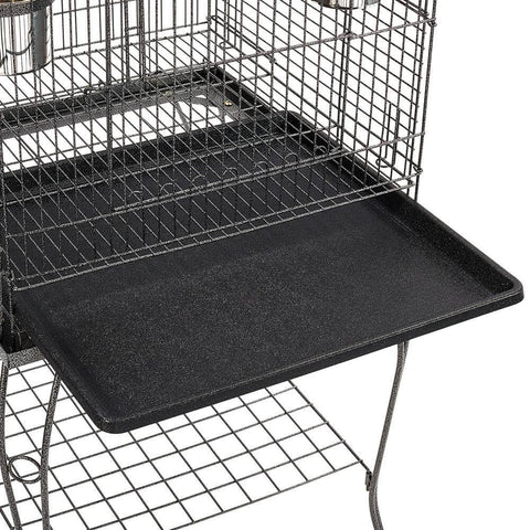 Image of Bird Cage with Slide- Out Tray for Easy Cleaning