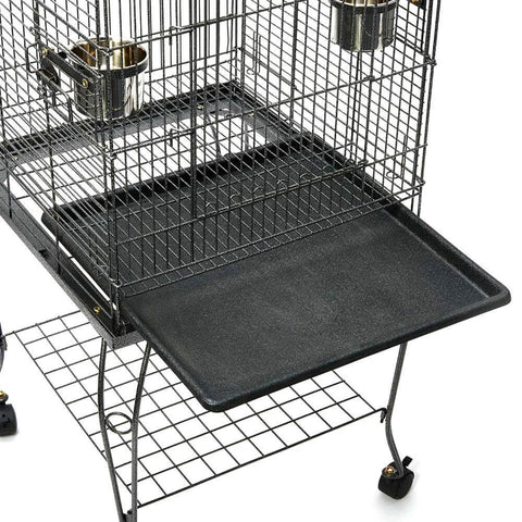 Image of Bird Cage with Slide Out Tray for Easy Cleaning