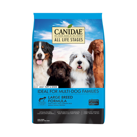 Image of Canidae-Dog-ALS-Large-Breed-Turkey-&-Brown-Rice