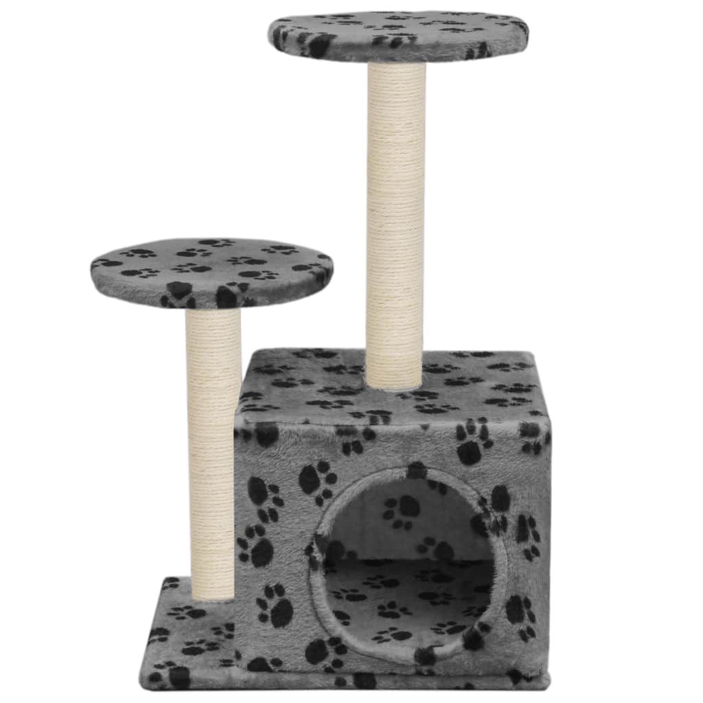 Cat Tree with Sisal Scratching Posts 60 cm
