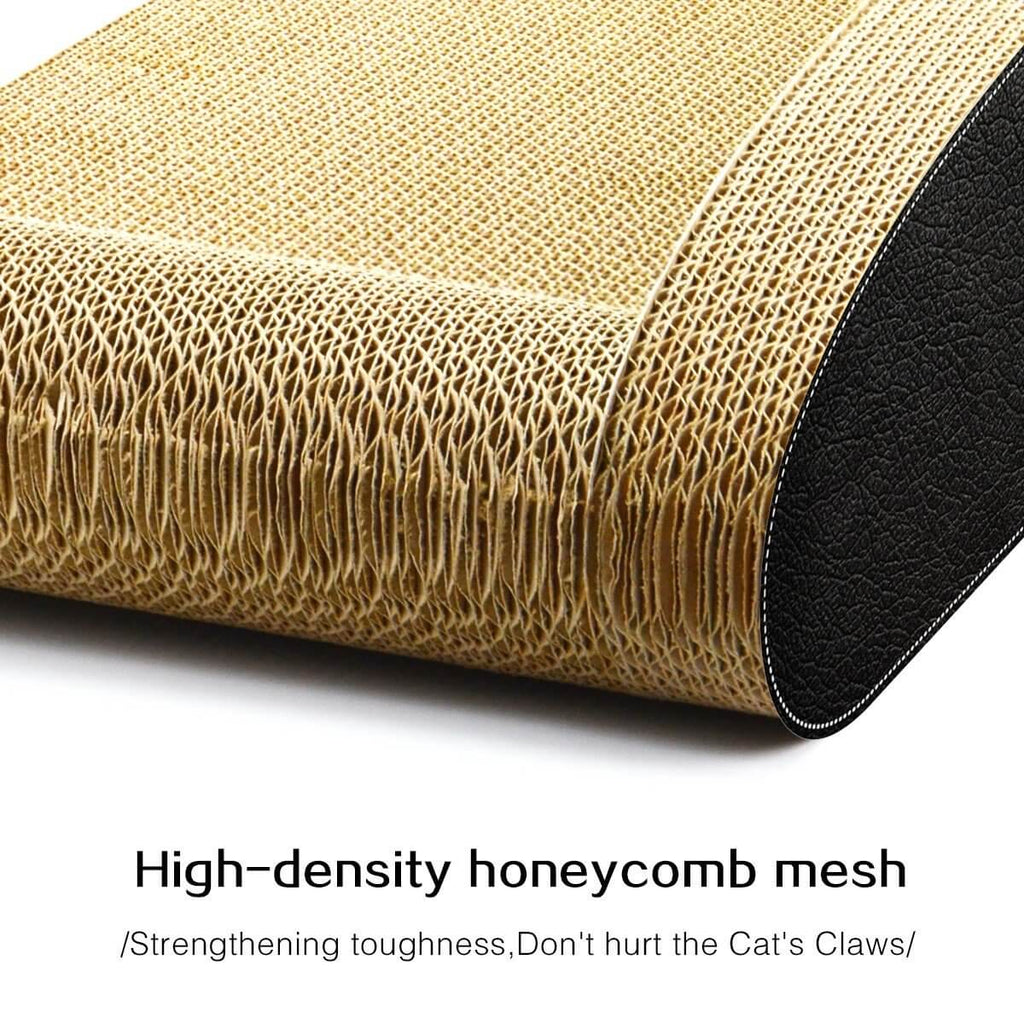 Cat Scratching Post Cat Toys Corrugated Cardboard Cat Scratcher Scratchboard High Density Honey Comb Mesh