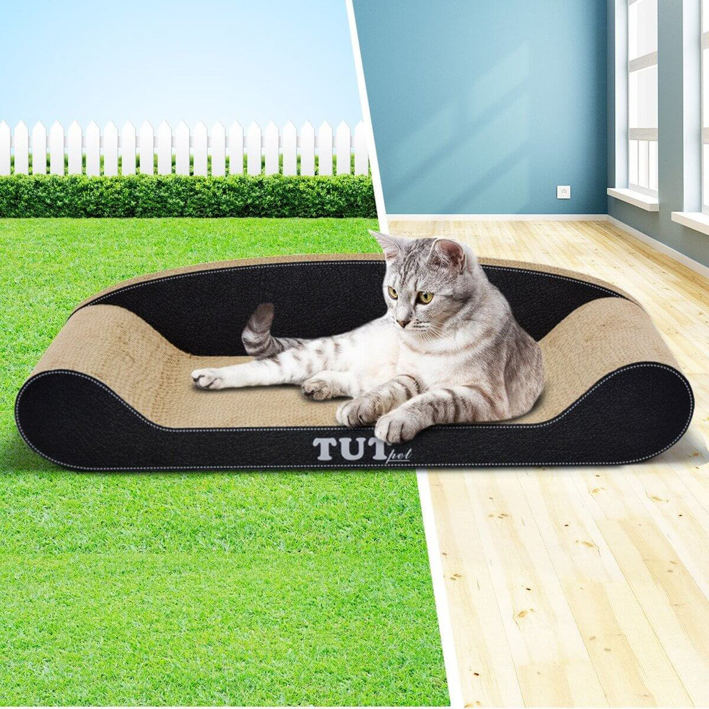Cat Scratching Post Cat Toys Corrugated Cardboard Cat Scratcher Scratchboard Pet Cat Outdoor