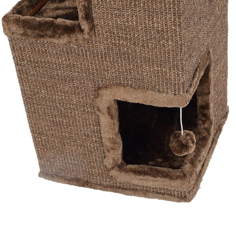Image of Cat Scratching  Tunnel House Sturdy Construction