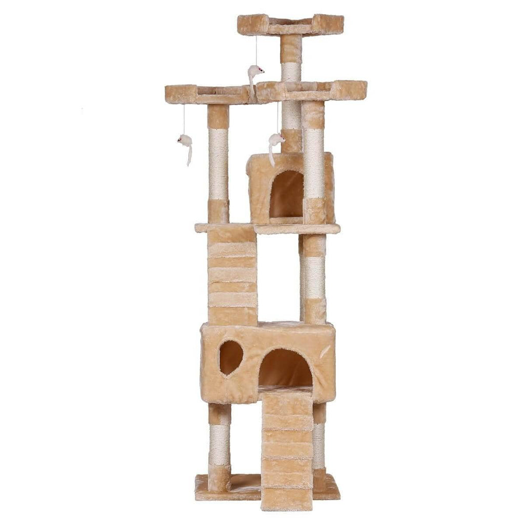Cat Tree Gym Condo Front View