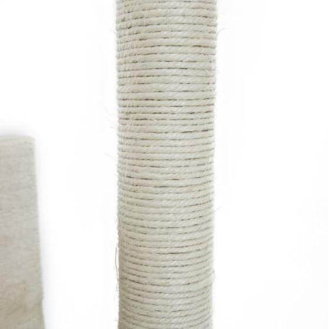 Image of Cat Tree Scratching Post Gym Toy House Natural Sisal Post