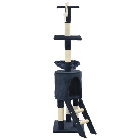 Image of Cat Tree with Sisal Scratching Posts 138 cm