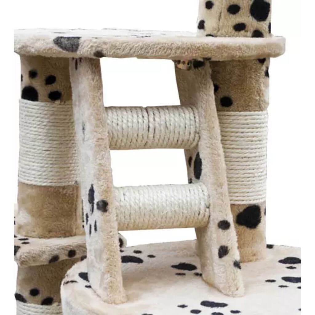 Cat Play Tree Cuddles XL Sisal Post and Ladder Everyday Pets